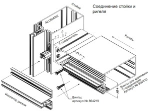 kreplenie_rigely_na_stoiku_alumin_profil_alumark