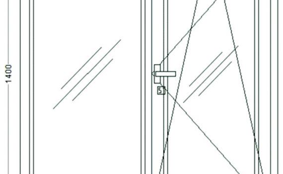Окно 1,3х1,4
